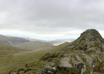 Striding Edge view